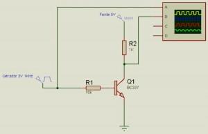 FIG 3 Esquema Elétrico do conversor de nível 3Vpp para 5Vpp