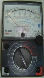 Figura 2 - Multímetro usado nas medidas
